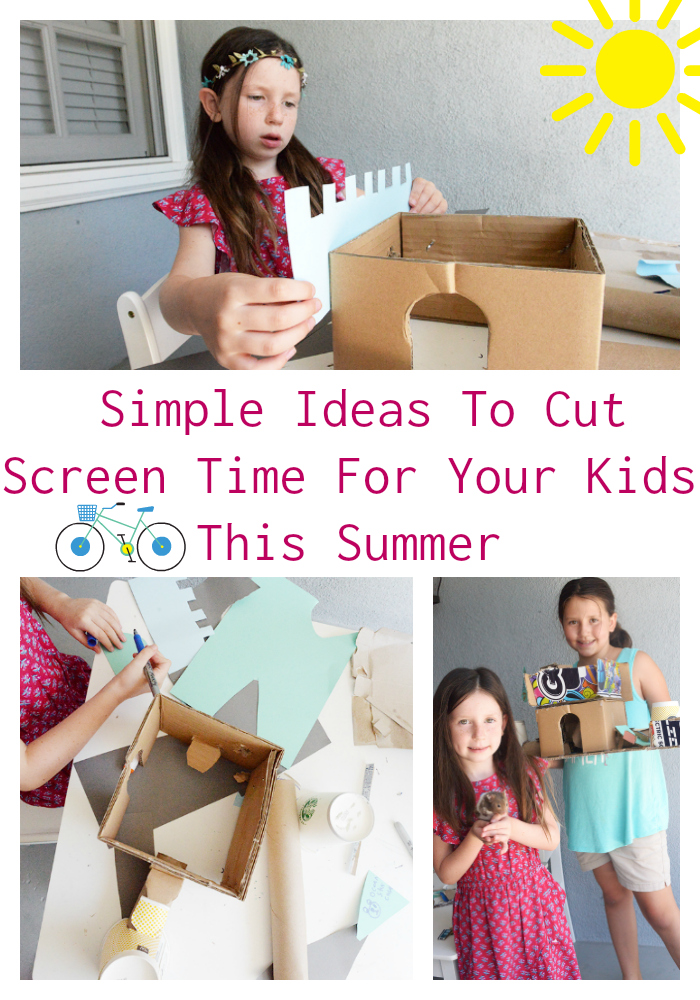 3 Simple Ideas To Cut Screen Time For Your Kids This Summer