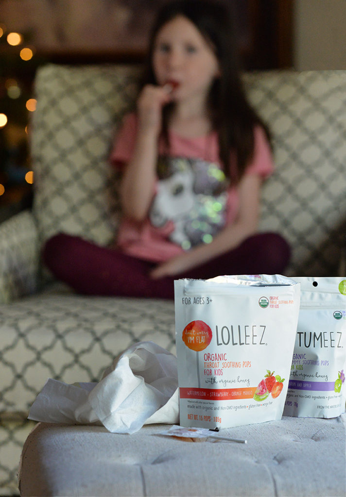 Lolleez organic soothing pops with honey kids