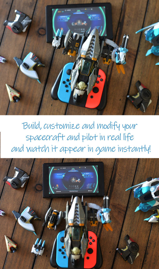 Nintendo Switch Starlink Game customize space craft