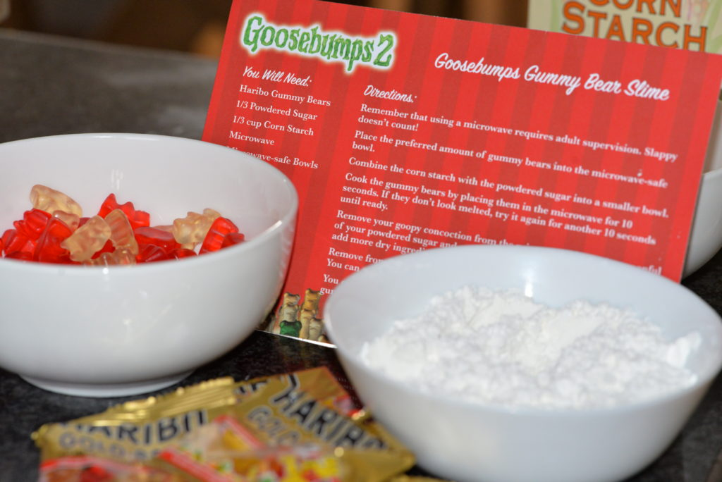 goosebumps 2 gummy bear slime recipe