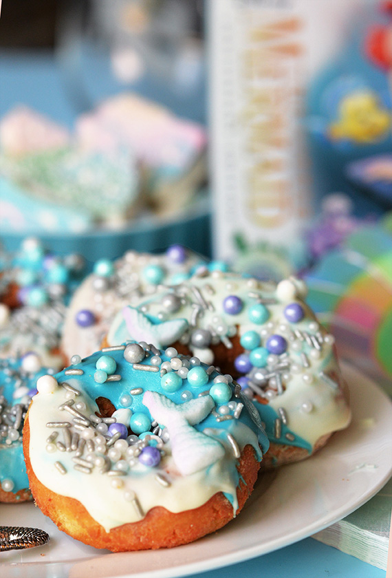 disney little mermaid movie treat anniversary donut
