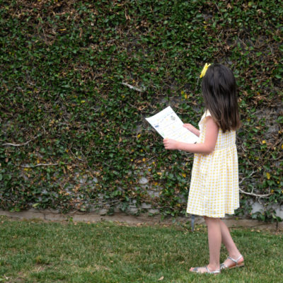 Simple Activities For Kids – Backyard Scavenger Hunt