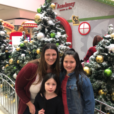 Visiting Santa HQ at the Mall