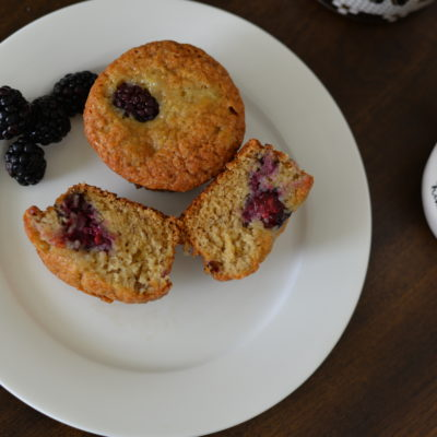 Buttermilk Banana Berry Muffin Recipe